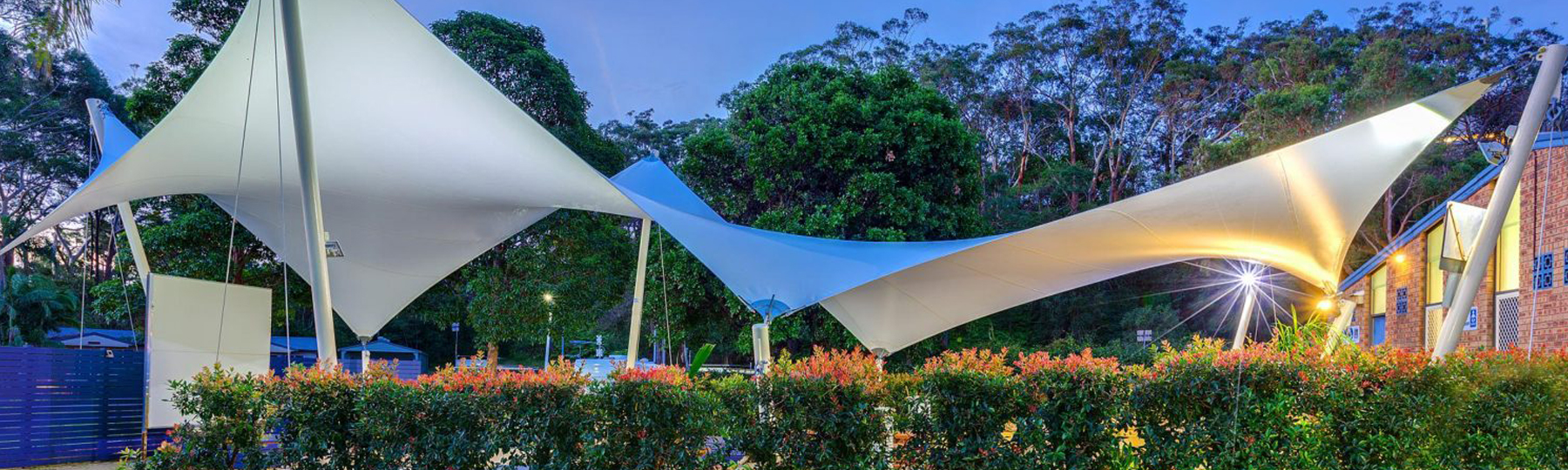 Shade To Order Australia - BBQ sail area | Polyedge sail - Newcastle sails | Sydney sails