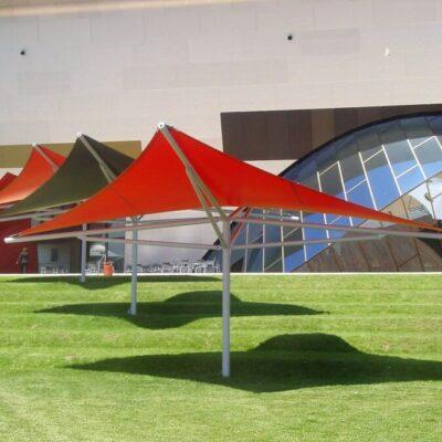 Shade To Order Australia - Umbrella commercial shade sails- Awnings ǀ Custom sails Newcastle