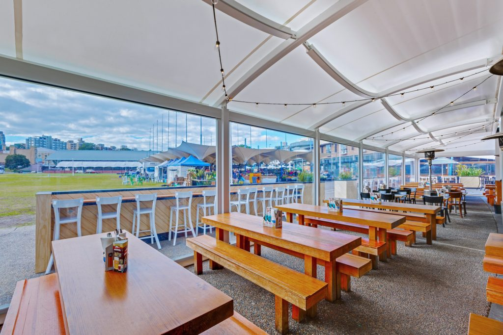 Shade To Order Australia - Barrel Vault Commercial Shade Sail - Awnings ǀ Custom Sails ǀ Custom Shade Sails ǀ Pool Shade Sails ǀ Sail Awning ǀ Sail Canopy ǀ Sail Canopy ǀ Sun Shade Sail - Newcastle, Sydney and Australia-wide