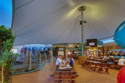 Example of pub dining area makeover